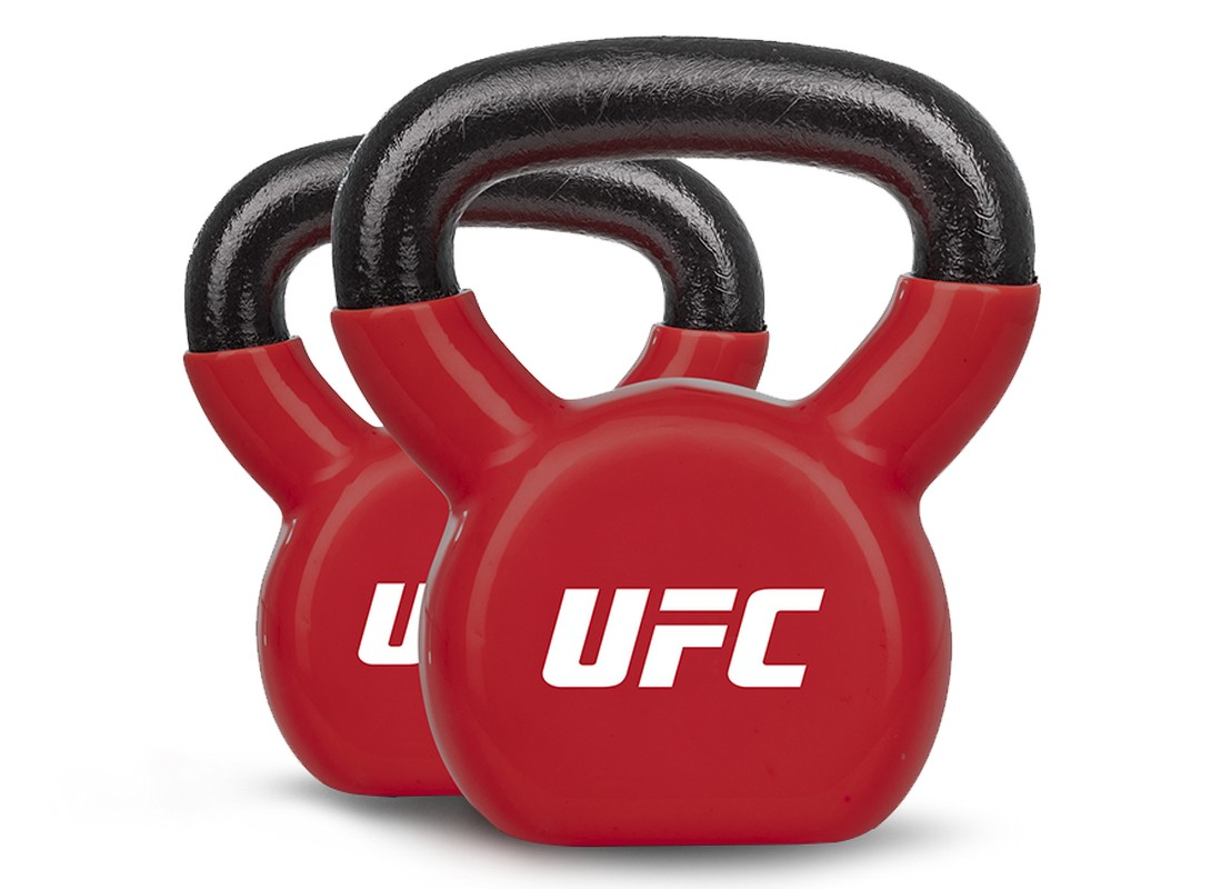 Гиря 6 кг UFC ПВХ UHA-69693