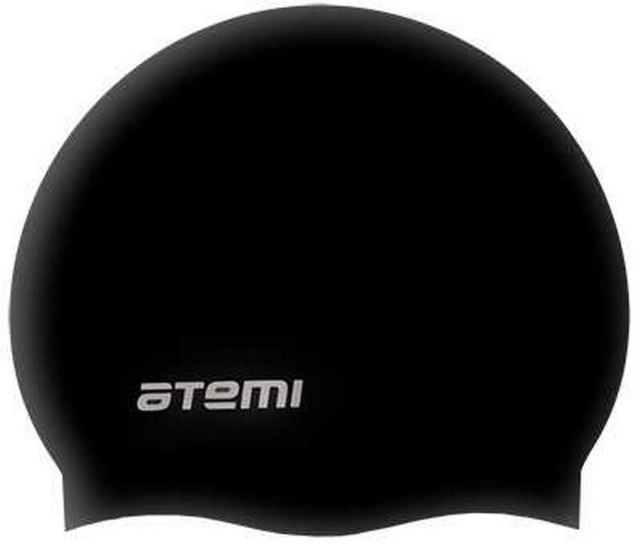 Купить Шапочка для плавания Atemi SC301 силикон, черный,