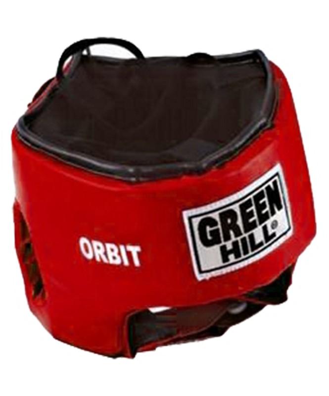 Шлем открытый Green Hill Orbit HGO-4030 красный green hill шлем green hill headgear