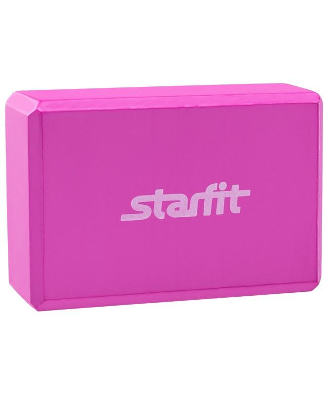 Купить Блок для йоги Starfit FA-101 розовый, Star Fit