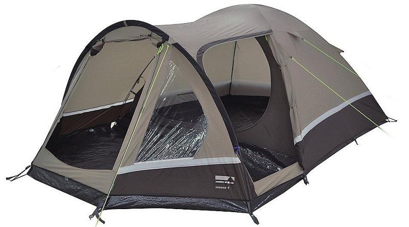 Палатка 4-м High Peak Mesos 4 коричневый