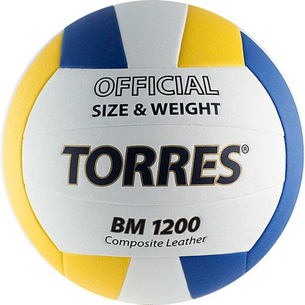 Мяч волейбольный Torres р.5 BM1200 V40035 цена