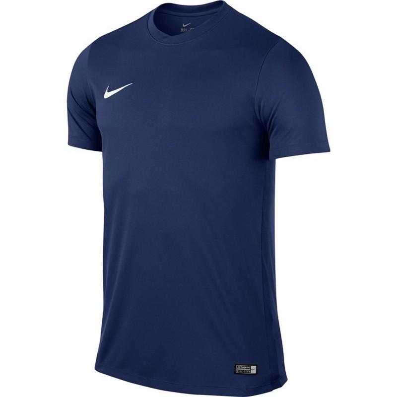 Майка игровая Nike Park Vi Jsy Ss 725891-410 Sr футболки nike футболка игровая nike ss park vi jsy 725891 702
