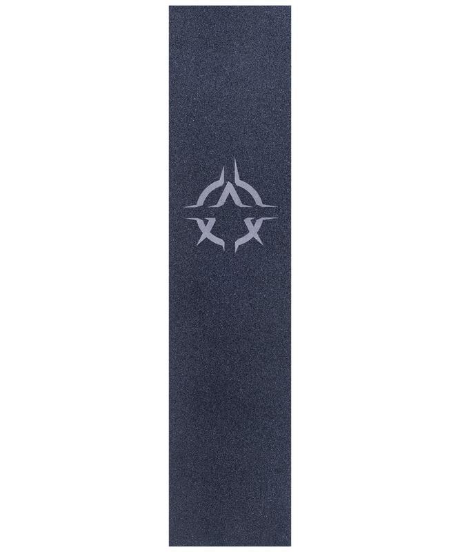 Шкурка для трюкового самоката XAOS Grey Logo фото