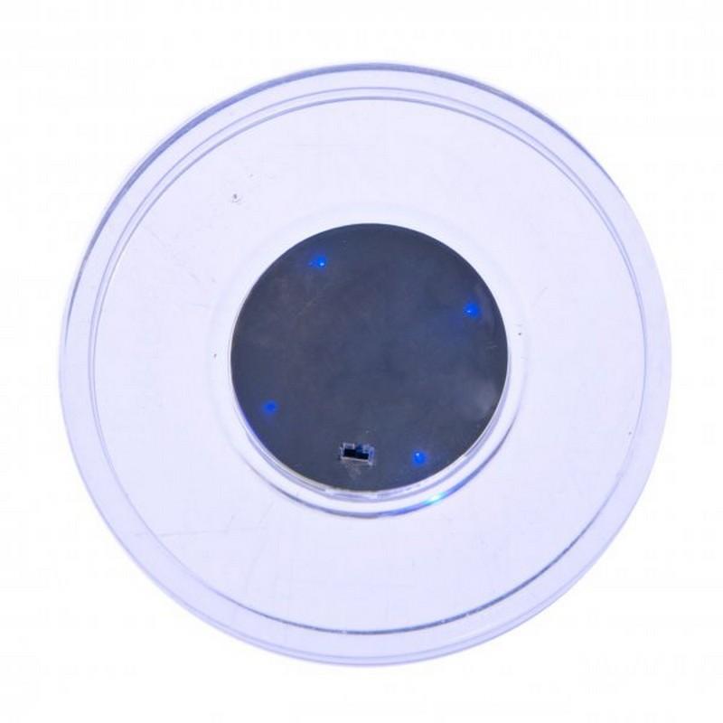 Шайба для аэрохоккея Atomic Lumen-X Laser прозрачная, синий светодиод d=65 mm вентилятор для аэрохоккея atomic ah800 52 703 00 6