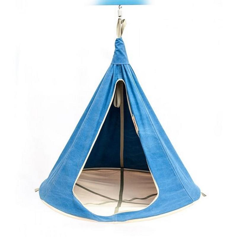 Гамак подвесной Kettler Kett-Up G136B диаметр 110 см синий гамаки kett up подвесной гамак кокон 110 см
