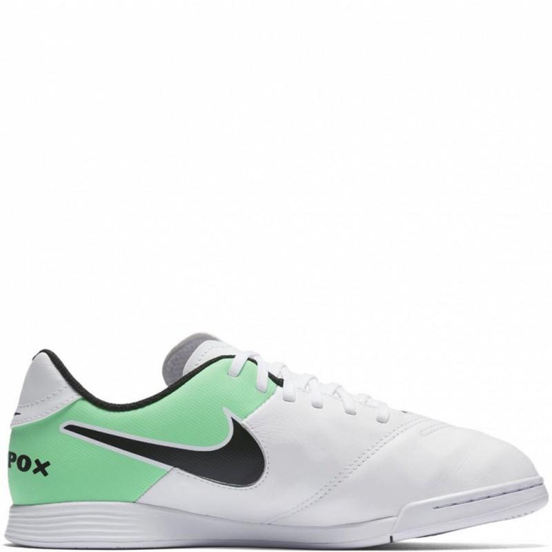 Футзалки Nike TiempoX Legend VI IC JR 819190-103 бутсы nike шиповки nike jr tiempox legend vi tf 819191 018