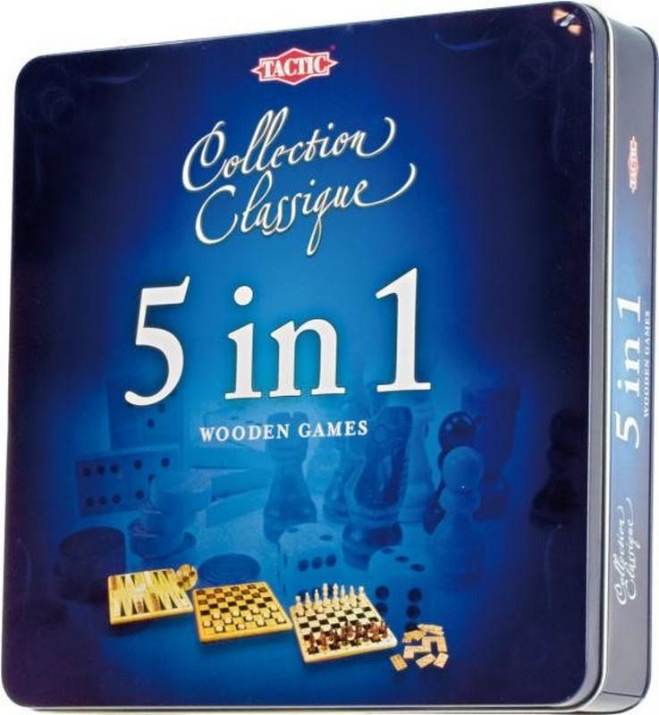 Подарочный набор Tactic Games 5 в 1 tactic games настольная игра нарисуй и угадай вечеринка tactic games