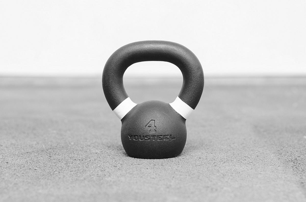 Гиря тренировочная Hard 4 кг YouSteel