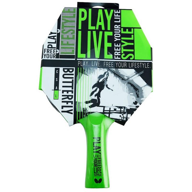 Ракетка для настольного тенниса Butterfly Free your Style (FL (CONC)) 85205S ракетка для настольного тенниса butterfly timo boll bronze