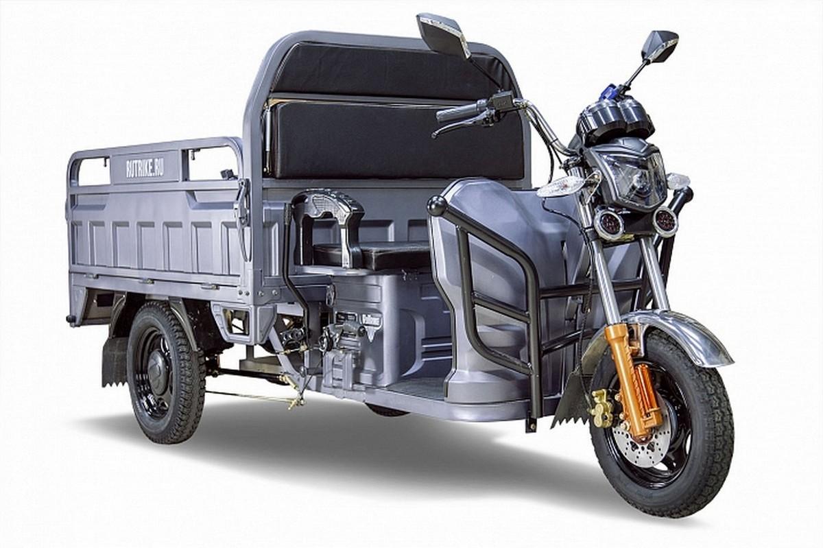 Купить Электрический трицикл RuTrike Дукат 1500 60V1000W 021346-2337 темно-серый,