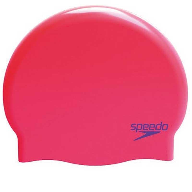 Шапочка для плавания Speedo Plain Moulded Silicone Junior 8-70990B826