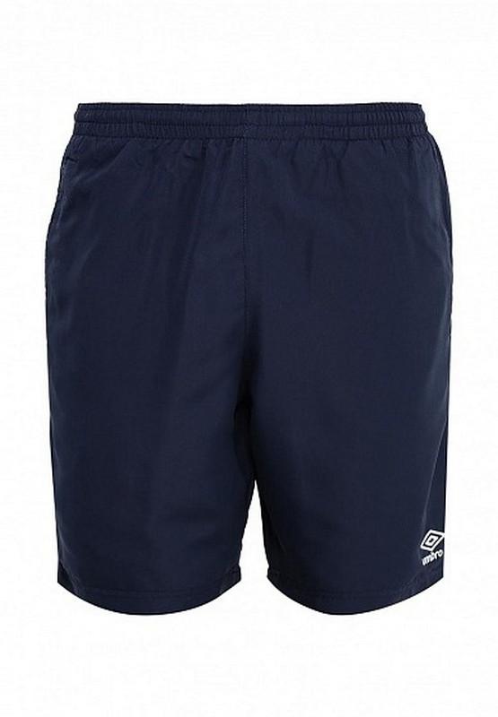Шорты Umbro Basic Woven Shorts повседенвные 530114 (091) т.син/бел