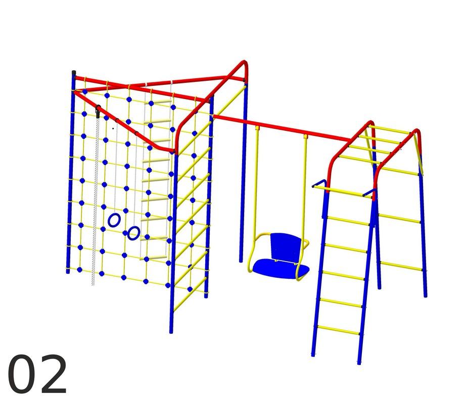 Детский спортивный комплекс Пионер Стрела-02