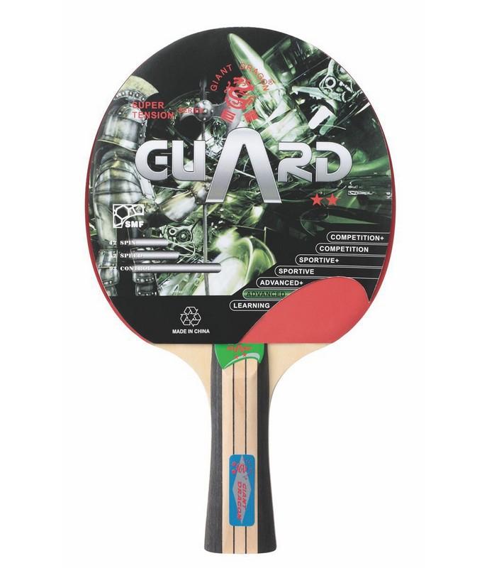 Ракетка для настольного тенниса Giant Dragon Guard ракетка для настольного тенниса torneo tour plustable tennis bat ti b3000