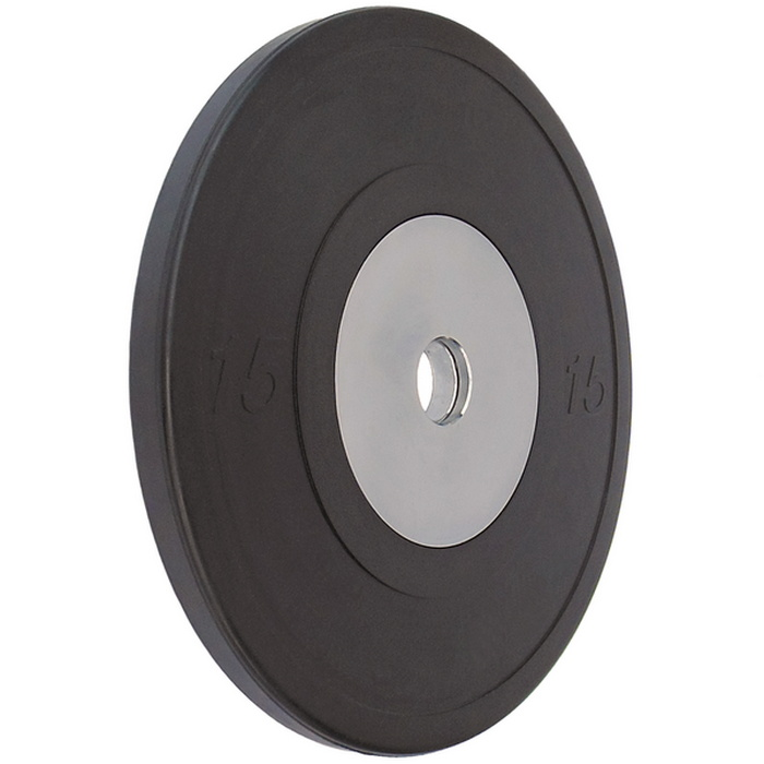 Купить Диск обрезиненный Vertex Crossfit D50мм 15 кг., черный,