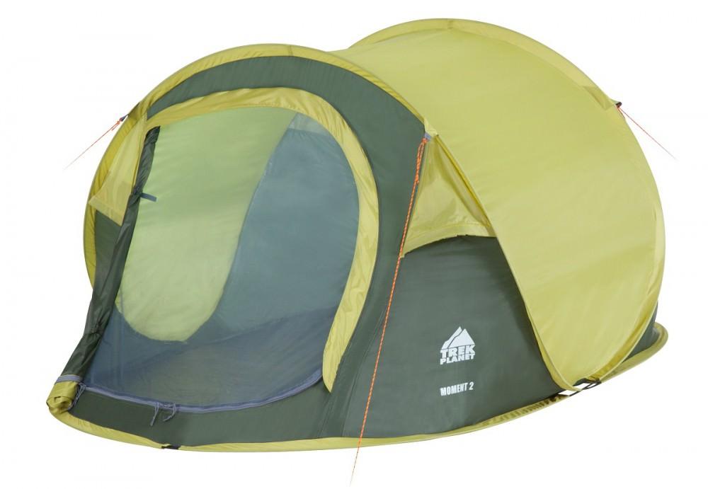 Палатка 2-м Trek Planet Moment 2 зеленый
