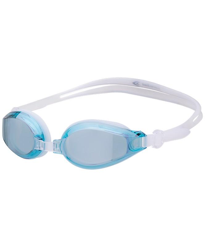 Очки для плавания LongSail Ocean Mirror, бирюзовый/белый (L011229) фото