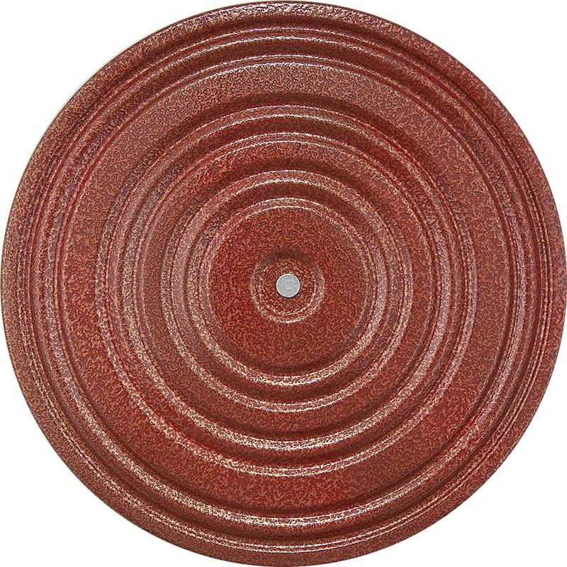 Купить Диск здоровья металл, 28 см, красный/черный, MR-D-03, NoBrand