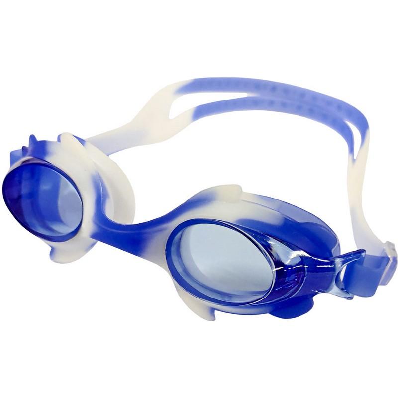Купить Очки для плавания B31525-0 мультколор (Синебелый), NoBrand