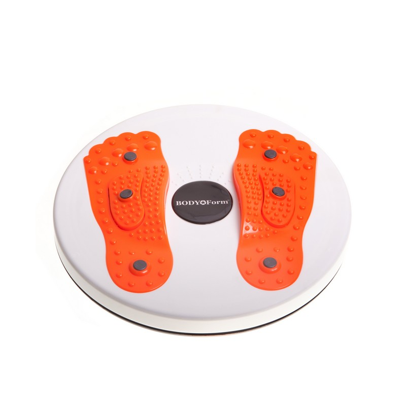 Диск Здоровья Body Form BF-BTW02 бело-оранжевый