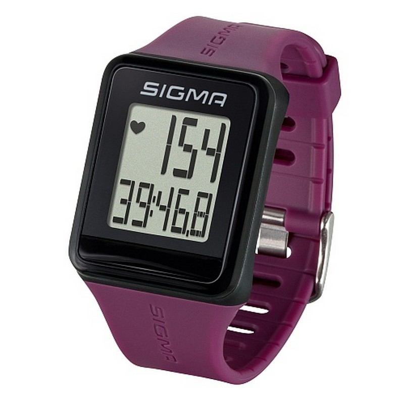 Пульсометр Sigma iD.Go 24510 фиолетовый пульсометр sigma pc 15 11 цвет серый 15 функций