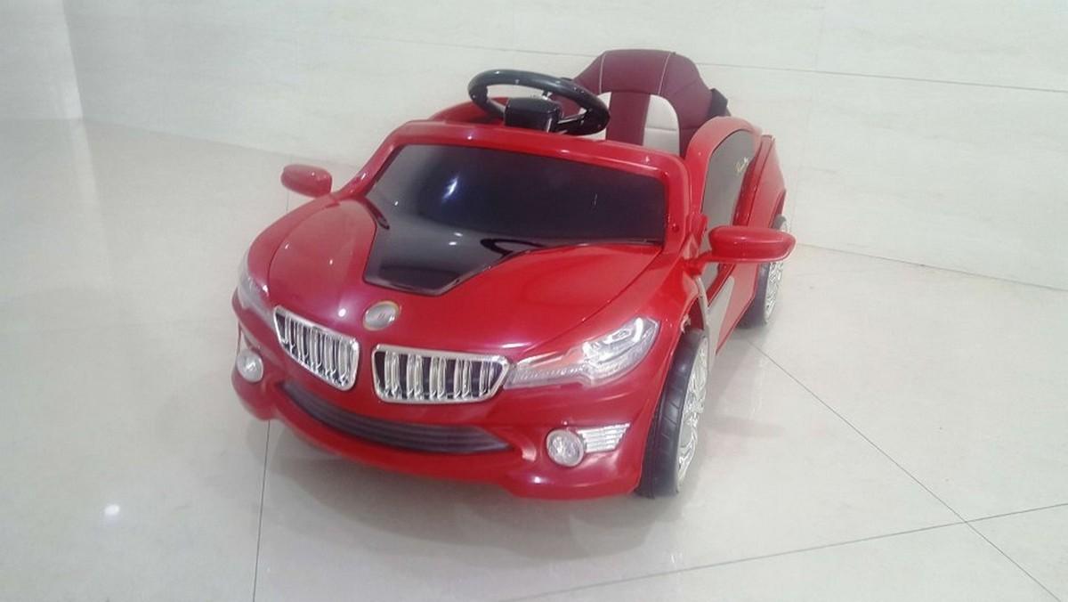 Купить Электромобиль River-Toys BMW O002OO VIP с ДУ красный, Детские электромобили