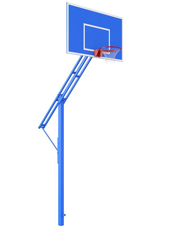Купить Баскетбольная стойка с регулировкой высоты кольца Glav 01.110,