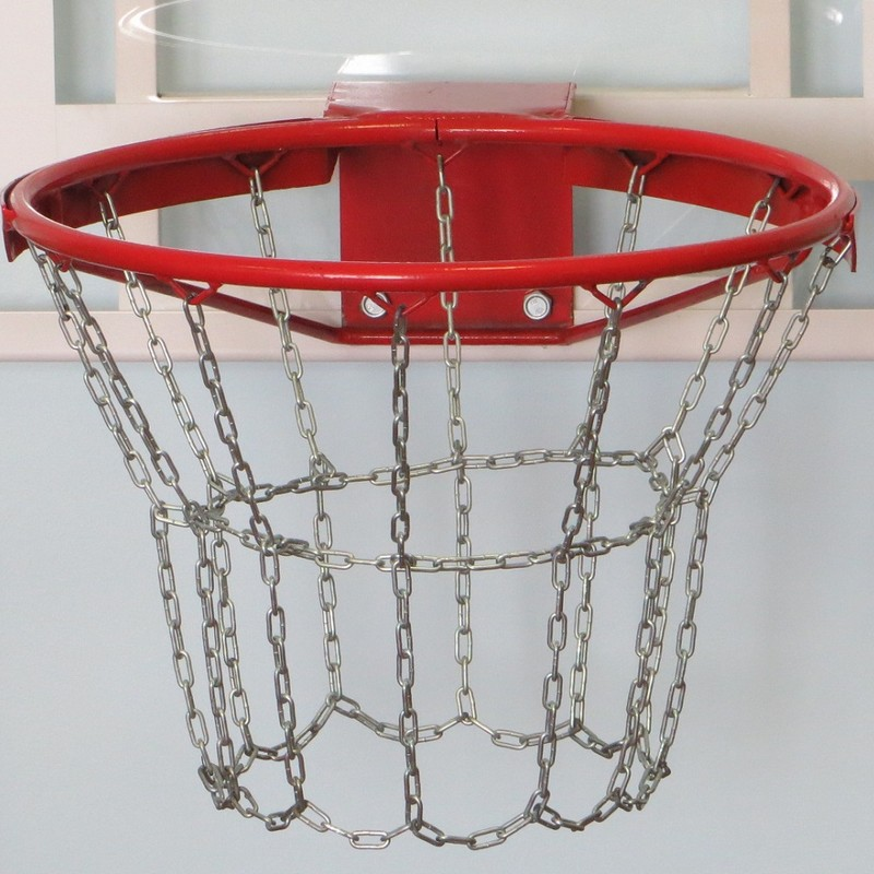 Купить Кольцо баскетбольное антивандальное, усиленное с цепью sportiko, sportiko