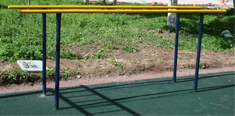 Купить Брусья параллельные Atlet малые (2,5м) уличные IMP-A203,