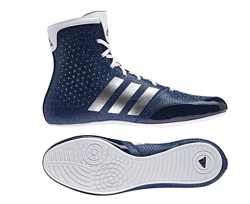 Боксерки Adidas KO Legend 16.2 сине-белые BA9077