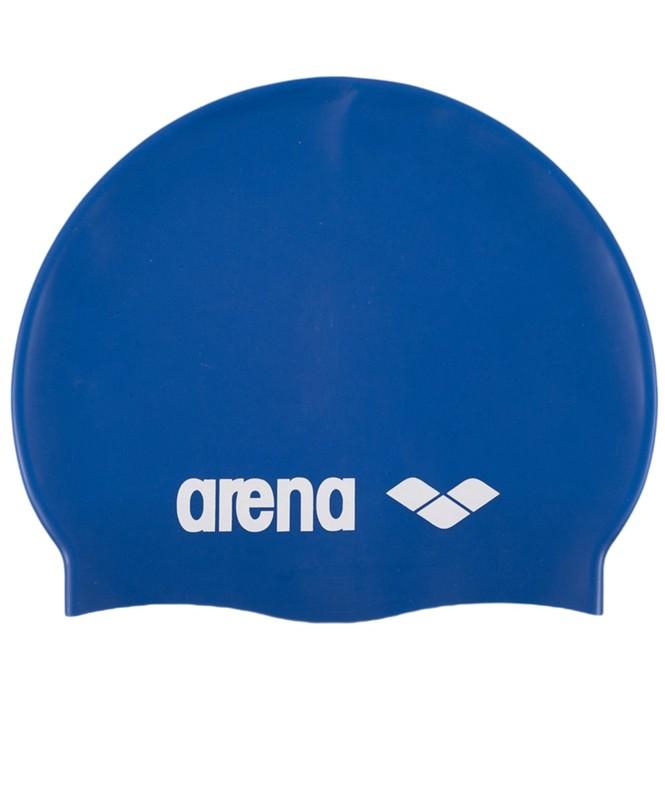 Шапочка для плавания детская Arena Classic Silicone Jr (91670 77) Skyblue/White шапочка для плавания arena classic silicone белый