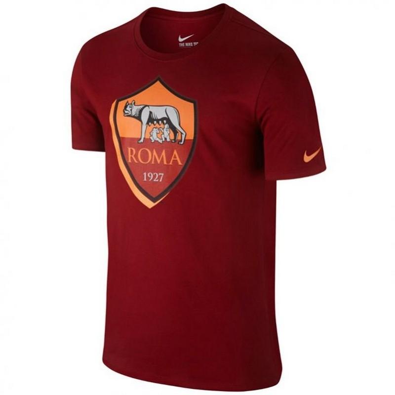Футболка мужская Nike FC Roma Crest Tee 689642-678, красная