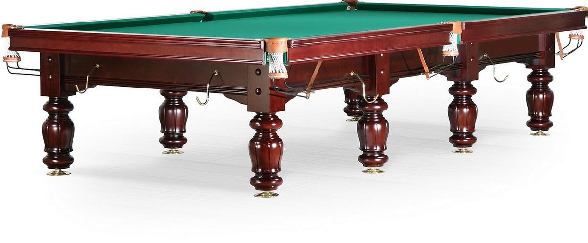 Бильярдный стол для русского бильярда Classic II 12 ф махагон 55.996.12.1_D