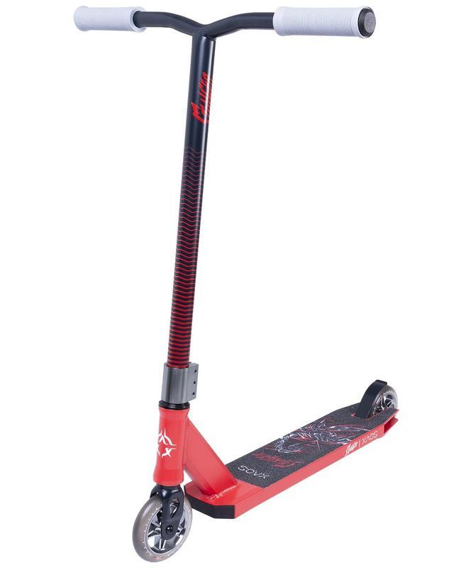Купить Самокат трюковый XAOS Stinger Red 110 мм,
