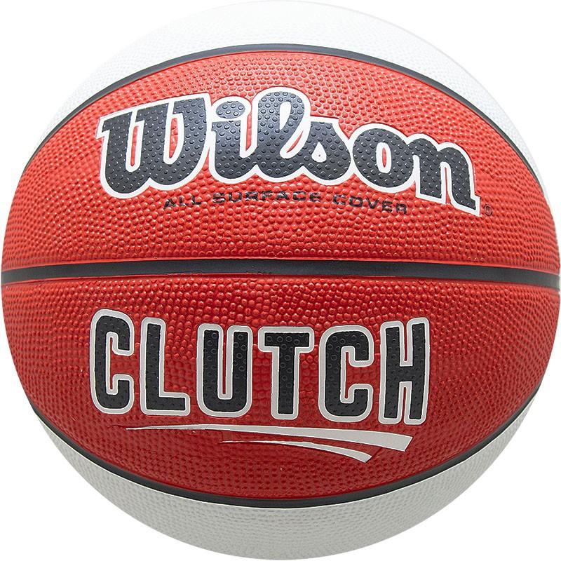 Купить Мяч баскетбольный Wilson Clutch р.7 WTB14195XB07,