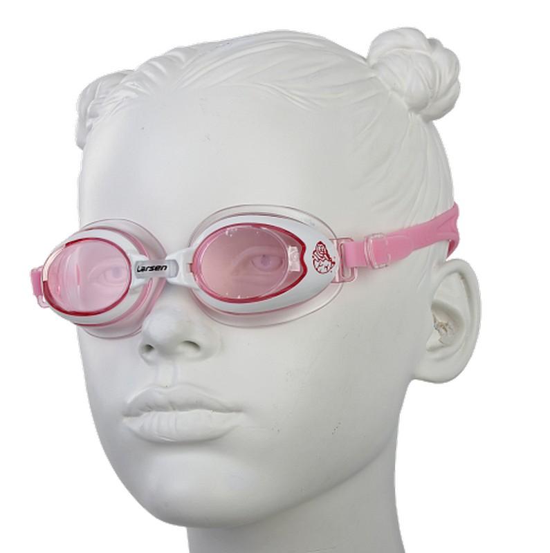 Очки плавательные детские Larsen DR15 очки плавательные детские larsen ds7