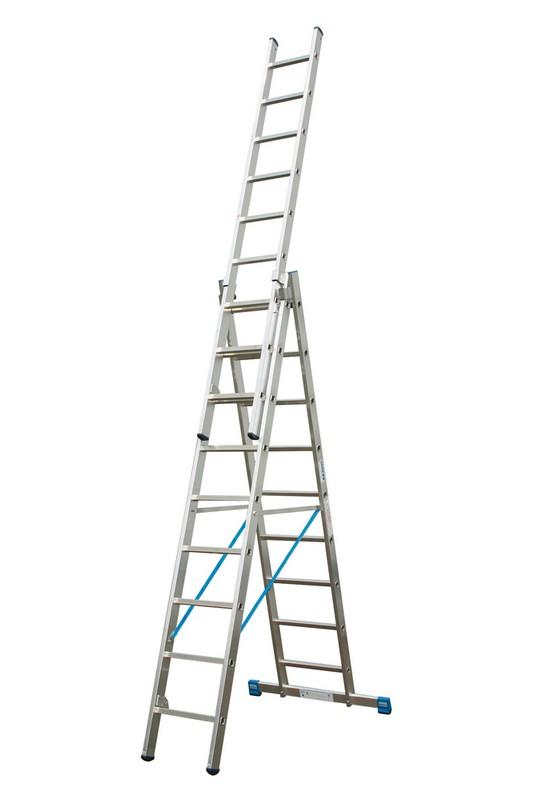 Универсальная лестница Krause STABILO 3х8 перекладин, 240-525 см 123923 универсальная лестница krause monto tribilo 3х8 перекладин 240 525 см 121226