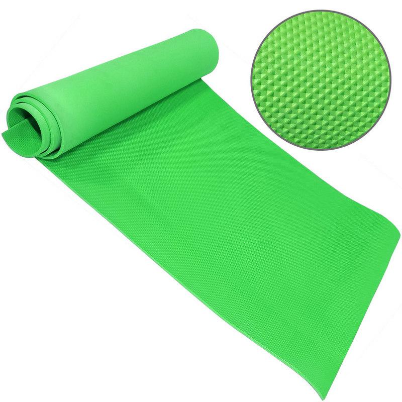 Купить Коврик для йоги ЭВА 173х61х0,6 см (зеленый) B32216, NoBrand