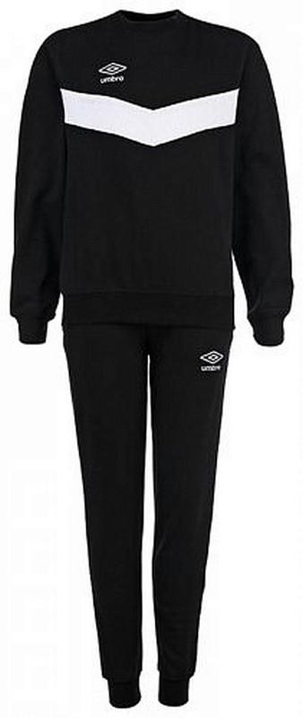 Костюм спортивный Umbro Unity Cotton Suit мужской 353015 (661) чер/бел.