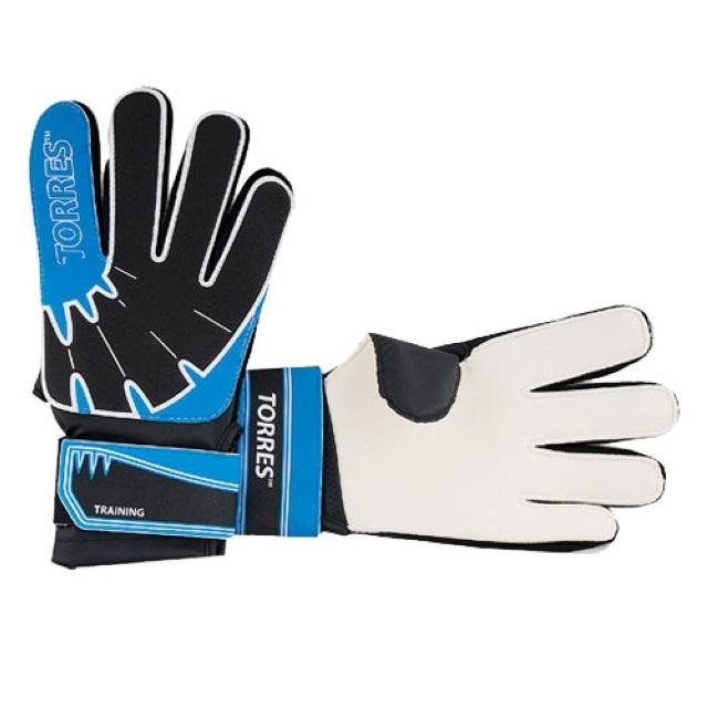 Перчатки вратарские Torres Training FG050410-BU синие