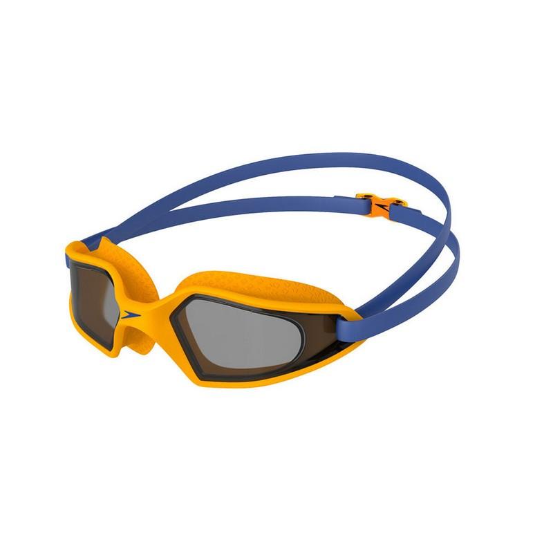 Купить Очки для плавания, детские Speedo Hydropulse Jr 8-12270D659 Дымчатые,