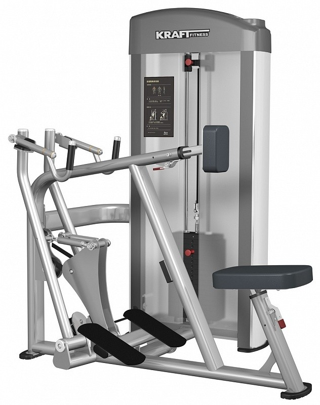 Гребная тяга с упором Kraft Fitness KFDROW жим от груди гребная тяга spirit fitness dws101 u2