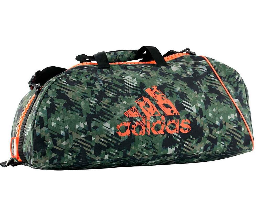Сумка спортивная Adidas Combat Camo Bag M камуфляжно-оранжевая adiACC053-M сумка спортивная adidas performance adidas performance ad094dulwp12