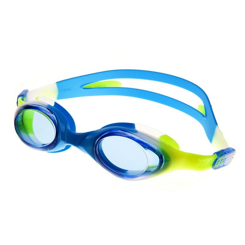 Очки для плавания Alpha Caprice AC-G35 D темно-голубой очки для плавания alpha caprice ac g35 d зеленый