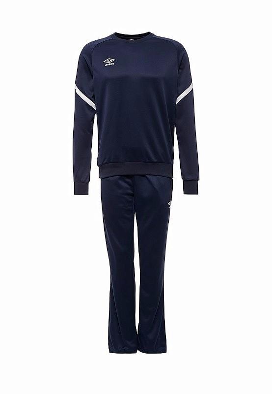 Костюм спортивный Umbro Avante Poly Suit мужской 350217 (091) т.син/бел.