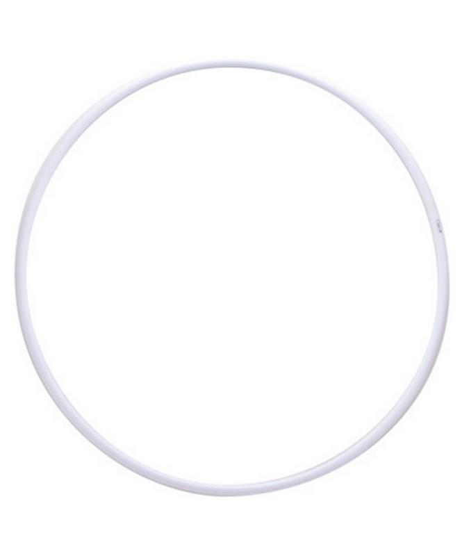 Обруч для художественной гимнастики НСО PRO белый D=80 см