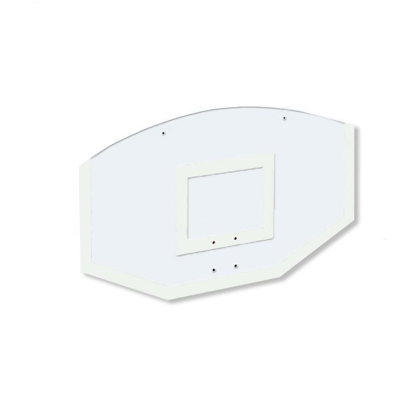 Купить Щит стритбольный 120х75 поликарбонат (разметка белая) Dinamika ZSO-002112,