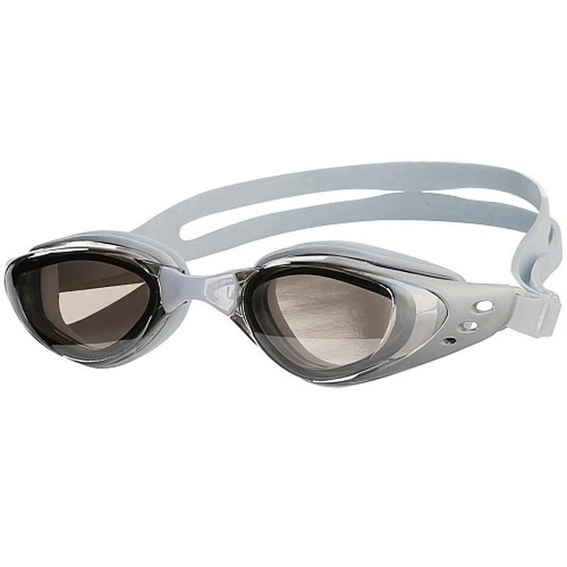 Очки для плавания Larsen R-G6811М серые,  - купить со скидкой