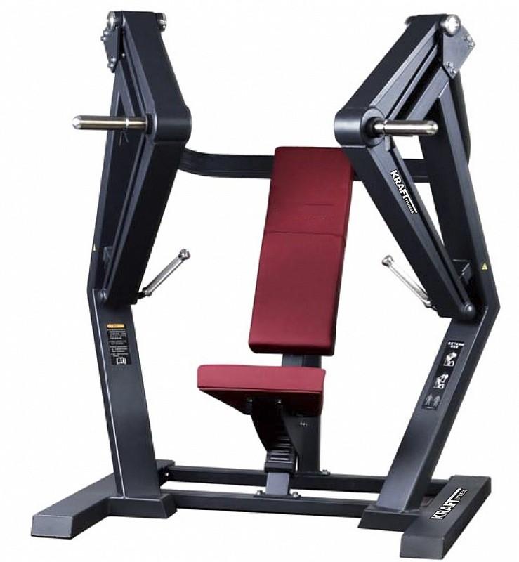 Жим от груди широким хватом Kraft Fitness KFPLWCP